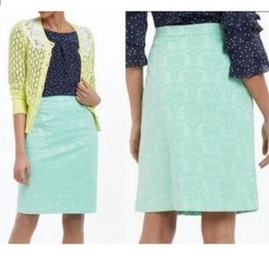 Anthropologie Moulinette Soeurs Mint Green Skirt